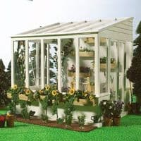 Dolls House Greenhouse Conservatory Painted Dolls House Emporium